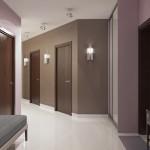 pintura de pasillo de color topo